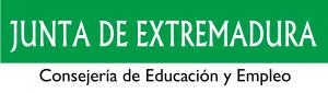 Logotipo Consejería Educación Junta Extremadura